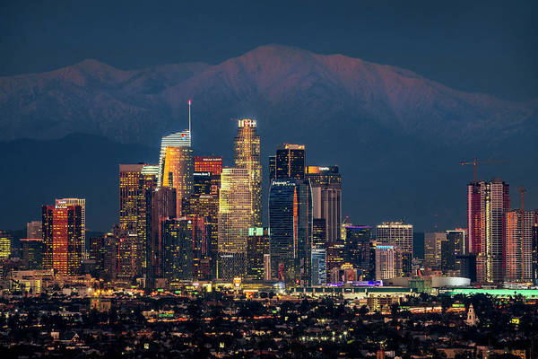 Photograph - City Lights Of Los Angeles by Kelley King