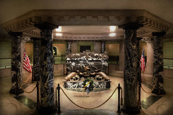 Photograph - City - Naval Academy -  Crypt Of John Paul Jones by Mike Savad