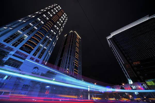 Rush Hour Photograph - City Night by Vii-photo