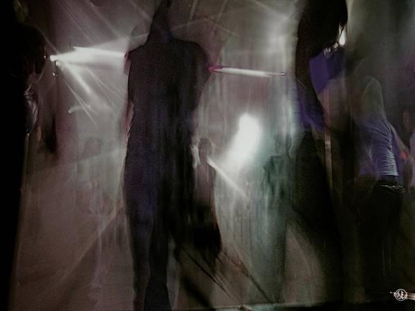 Light And Shadow Digital Art - City Nightlife by Gun Legler