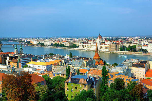 Danube Photograph - City Of Budapest by Visions Of Our Land