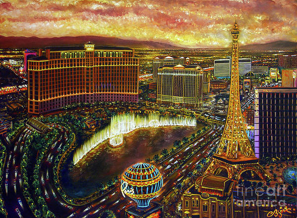 City Of Gold Art Print