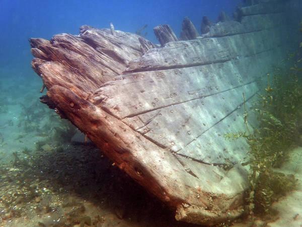Photograph - City Of Grand Rapids Shipwreck Ontario Canada 8081801c by Rick Veldman