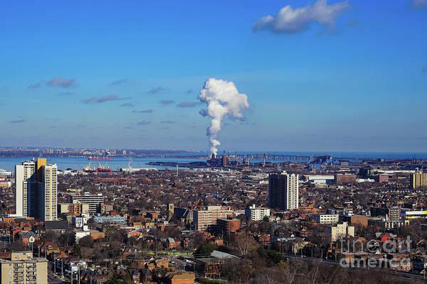 Photograph - City Of Hamilton by Rachel Cohen