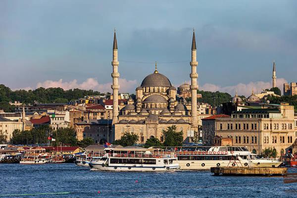 Wall Art - Photograph - City Of Istanbul In Turkey by Artur Bogacki