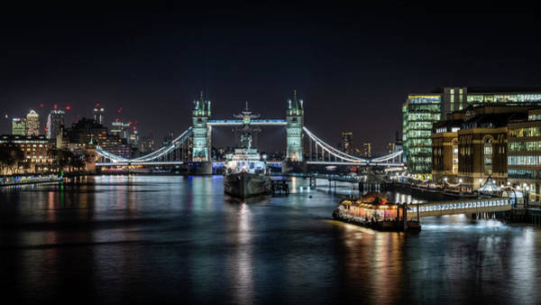Photograph - City Of London Scene by Framing Places
