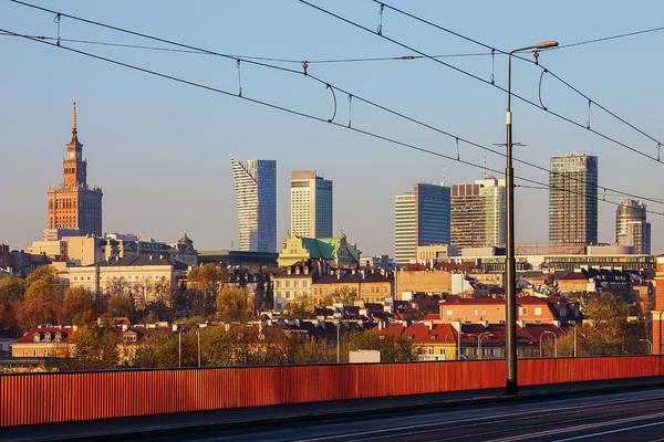 Wall Art - Photograph - City Of Warsaw Downtown Skyline by Artur Bogacki