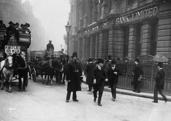 1896 Photograph - City Policeman by London Stereoscopic Company
