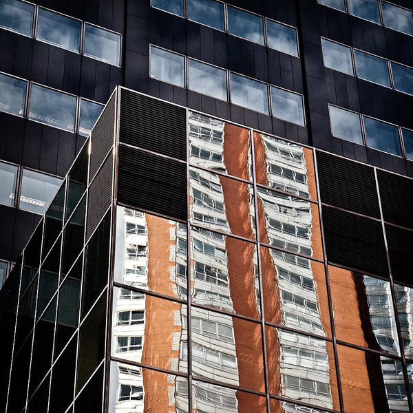 Photograph - City Reflections by Dave Bowman