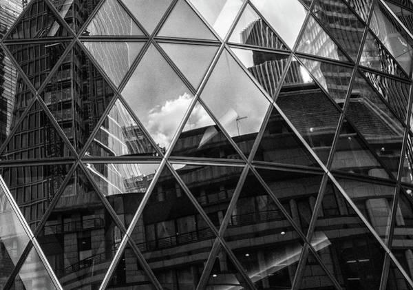 Wall Art - Photograph - City Reflections by Martin Newman