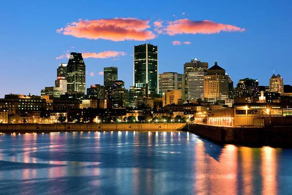 Quebec City Photograph - City Skyline by Jean-pierre Lescourret