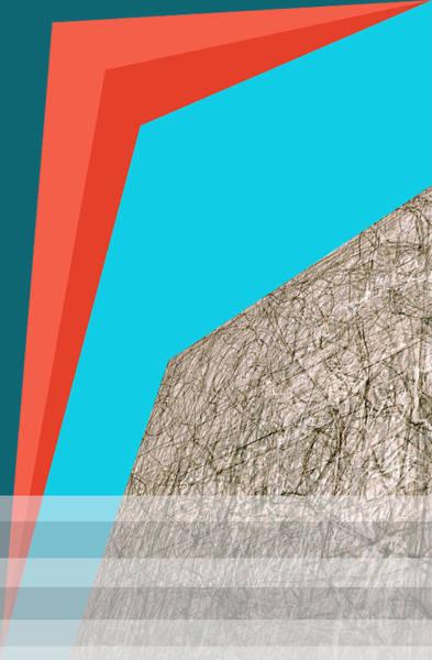 Digital Art - City Skyscraper Abstract 4 by Artist Dot