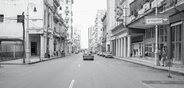 Photograph - City Street, Havana by Mark Duehmig