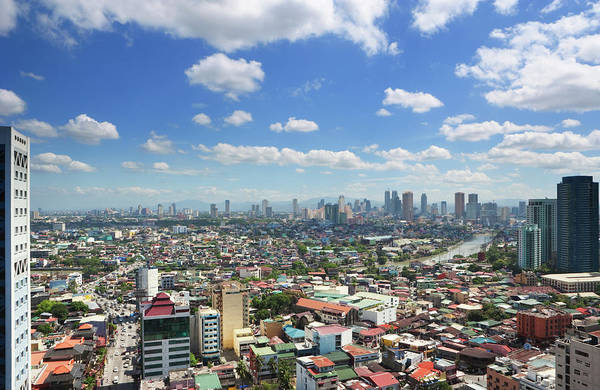 Philippines Photograph - City View Of Manila Philippines by Laurie Noble