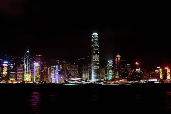 Chinese Culture Photograph - Cityscape At Victoria Harbor by Bo Wen Chin