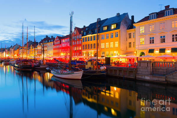 Vessel Wall Art - Photograph - Cityscape Of Copenhagen At A Summer by Sergiyn
