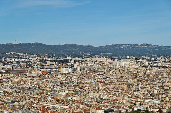 Photograph - Cityscape Of Marseille by Angelo DeVal