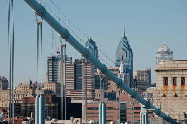 Wall Art - Photograph - Cityscape - Philadelphia From The Benjamin Franklin Bridge by Bill Cannon