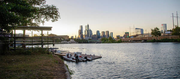 Wall Art - Photograph - Cityscape - Philadelphia Skyline From The Schuylkill River by Bill Cannon