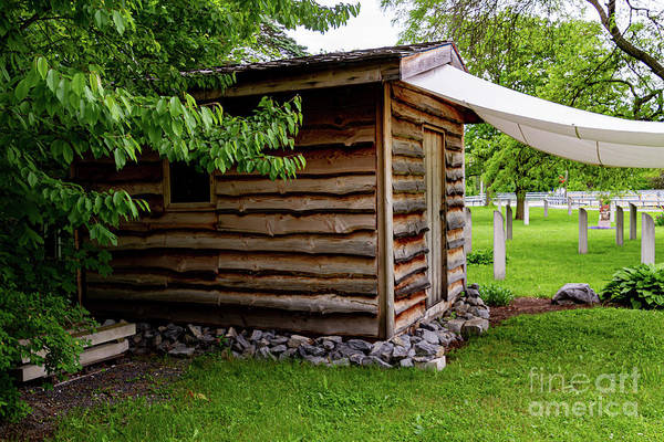 Photograph - Civil War Memorial Cabin by William Norton