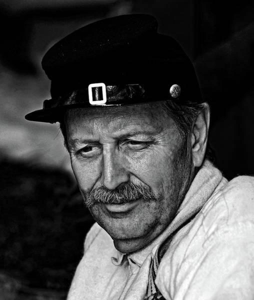 Photograph - Civil War Re-enactor by Bill Jonscher