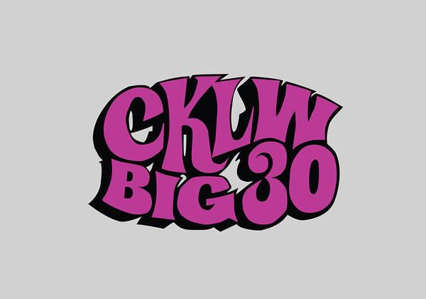 Photograph - Cklw Big 30 - Purple by Thomas Leparskas