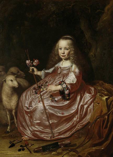 Painting - Clara Alewijn  by Dirck van Santvoort