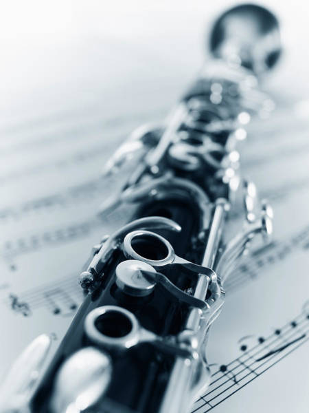 Clarinet Wall Art - Photograph - Clarinet by Adam Gault