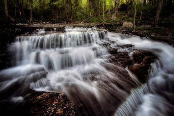 Photograph - Clark Creek Cascades No 3 by Simmie Reagor