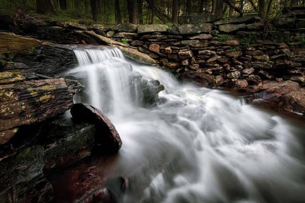 Photograph - Clark Creek Cascades No 5 by Simmie Reagor