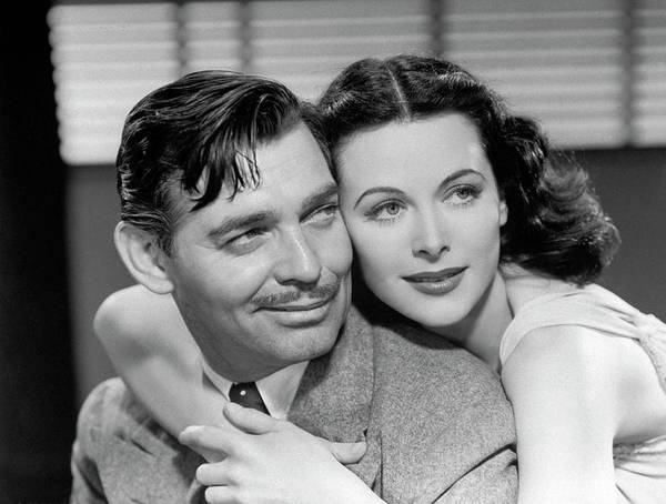 Romance Photograph - Clark Gable And Hedy Lamarr by Time Life Pictures
