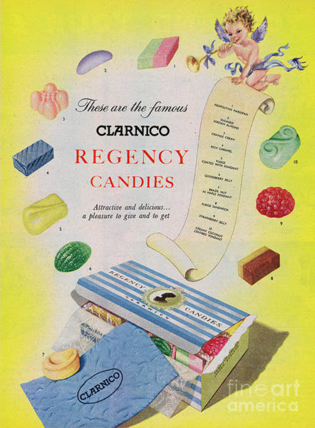 Wall Art - Photograph - Clarnico Regency Candies by Picture Post