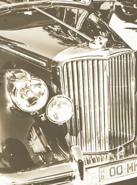 Oldtimer Wall Art - Photograph - Classic Car Chrome by Jorgo Photography - Wall Art Gallery