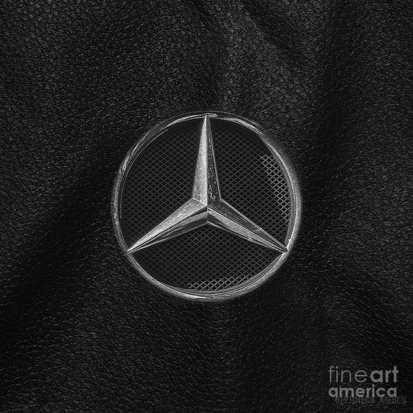 Super Car Mixed Media - Classic Car Collection- Benz by Dezigners Agency