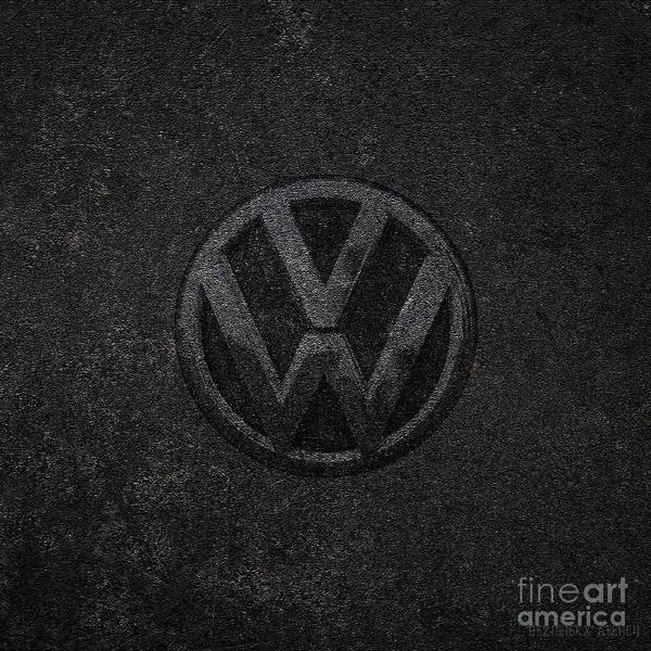 Super Car Mixed Media - Classic Car Collection- Germany Vw by Dezigners Agency