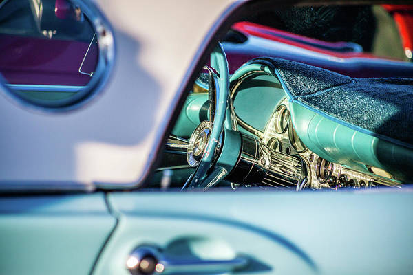 Photograph - Classic Car Dashboard by Jeanette Fellows