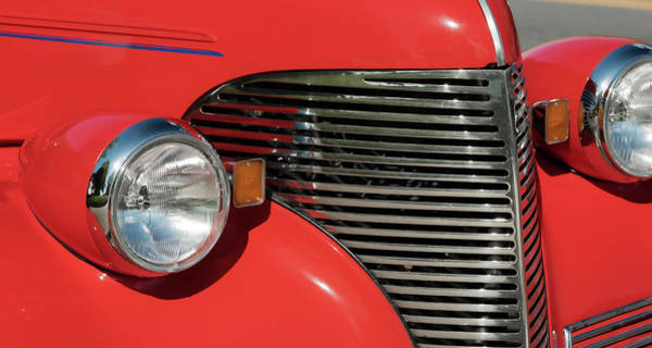 Photograph - Classic Car Red by Patrick M Lynch