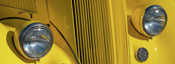 Photograph - Classic Car Yellow by Patrick M Lynch