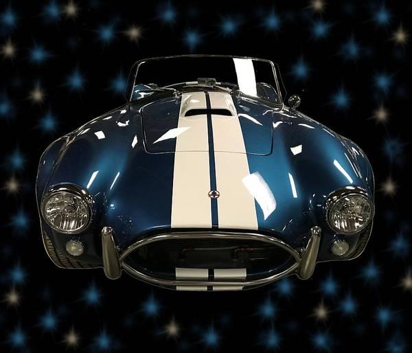 Mixed Media - Classic Cars Cobra Shelby by Joan Stratton