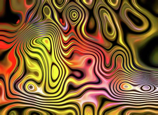 Digital Art - Classic Chaos Gold by Don Northup