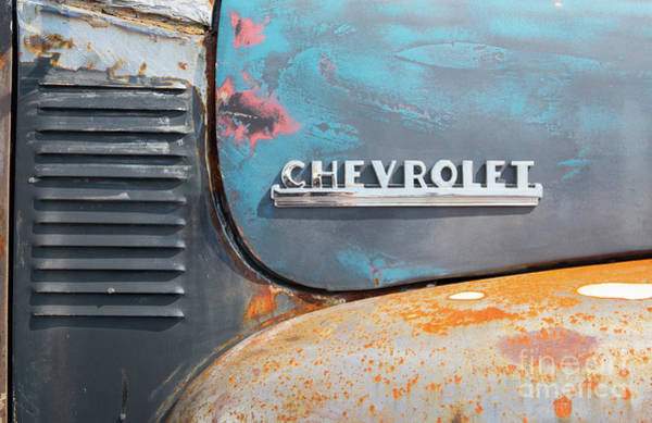 Photograph - Classic Chevy Pickup Closeup by Kevin McCarthy
