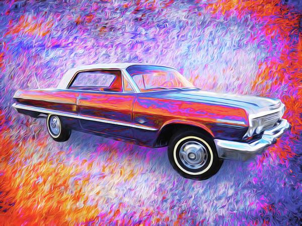 Digital Art - Classic Chevy. by Rick Wicker