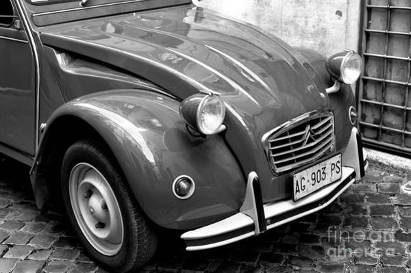 Photograph - Classic Citroen In Roma by John Rizzuto