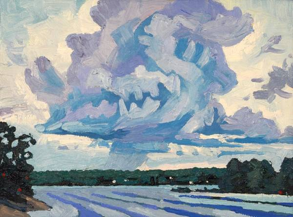 Wall Art - Painting - Classic Cumulus Congestus by Phil Chadwick