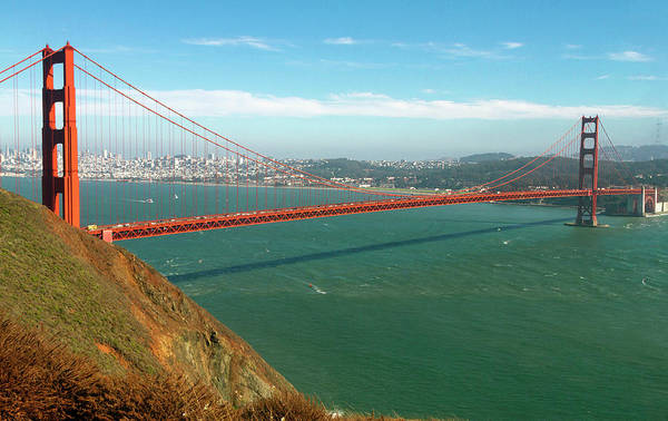 Photograph - Classic Golden Gate by Bonnie Follett