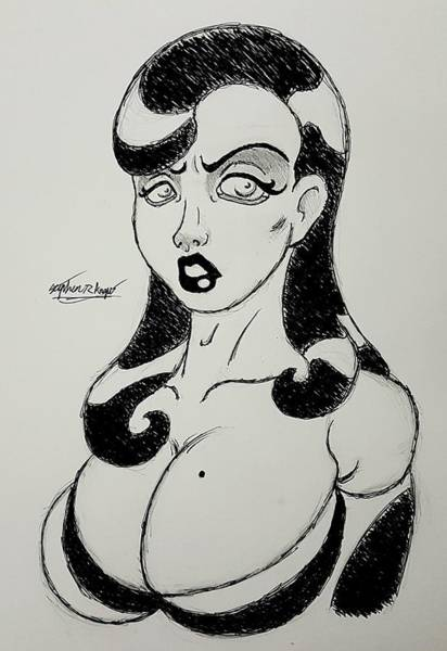 Wall Art - Drawing - Classic Hollywood by Stephen Angus
