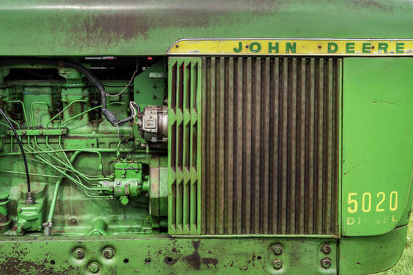 Wall Art - Photograph - Classic John Deere Tractor 02 by Richard Nixon
