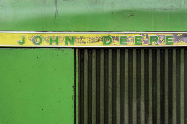 Wall Art - Photograph - Classic John Deere Tractor 03 by Richard Nixon