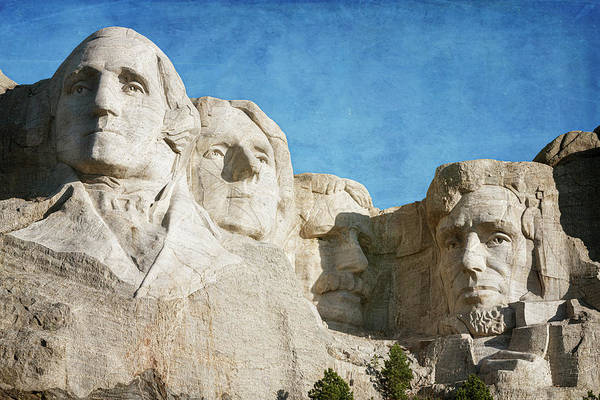 Wall Art - Photograph - Classic Mount Rushmore by Joan Carroll