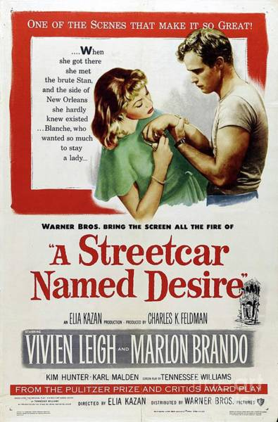 Desire Painting - Classic Movie Poster - A Streetcar Named Desire by Esoterica Art Agency